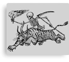 Devils Terror  Canvas Print