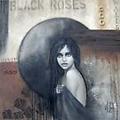 Black roses by Chehade
