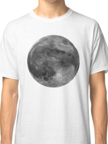 Eagle Moon - Lunar surface with eagle Classic T-Shirt