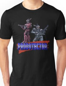 Probotector - SNES Title Screen Unisex T-Shirt