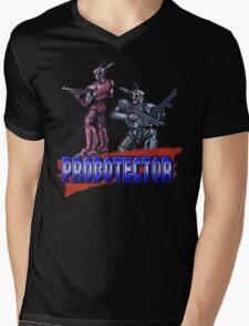Probotector Mens V-Neck T-Shirt