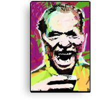 Charles Bukowski. The Wooden Butterfly. Canvas Print