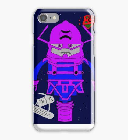 Galactus Silver Surfer Pogo iPhone Case/Skin