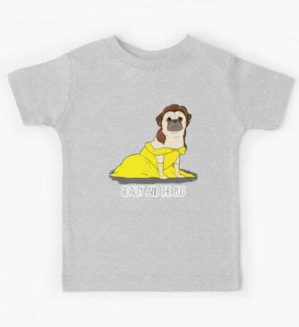 Beauty and the Pug Kids Tee