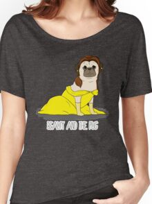 Beauty and the Pug Women's Relaxed Fit T-Shirt