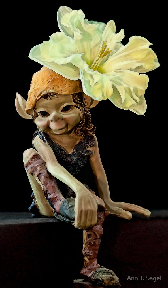 Amusing Little Nymph by Ann J. Sagel