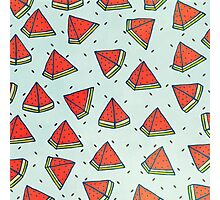 Watermelon pattern Photographic Print