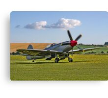Spitfire FR.XVIIIe SM845/R G-BUOS taxying in Canvas Print