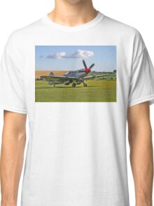 Spitfire FR.XVIIIe SM845/R G-BUOS taxying in Classic T-Shirt