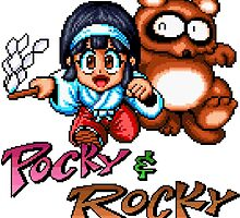 Pocky & Rocky by Lupianwolf