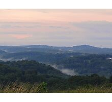 Rising Mist Photographic Print
