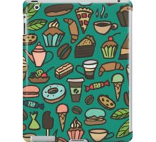 Coffee and pastry iPad Case/Skin