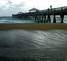 Juno Beach Pier by patti4glory