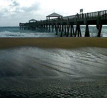Juno Beach Pier by patti4glory