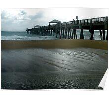 Juno Beach Pier Poster
