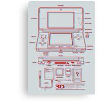 3DS Canvas Print