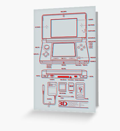 3DS Greeting Card