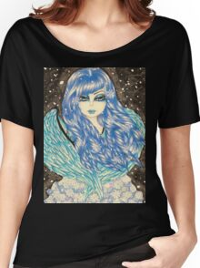"""Snow Angel""  Women's Relaxed Fit T-Shirt"
