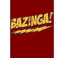 Big Bang Theory Bazinga Photographic Print