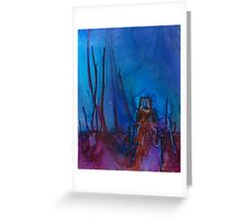 A LIGHT IN TAOS Greeting Card