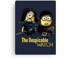 Game of thrones the despicable watch Canvas Print