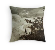 Cormorants Dream of Pike in the Sky Throw Pillow
