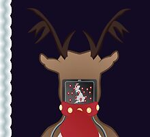 Christmas Card - I Can't Find Britain! by Daniel Bevis