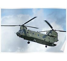 RAF Chinook Poster