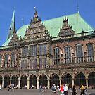 Bremen town hall by Elena Skvortsova