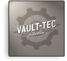 Fallout Vault Tec Industries Canvas Print