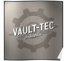 Fallout Vault Tec Industries Poster