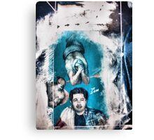 The eternal dialogue with the dementia Canvas Print