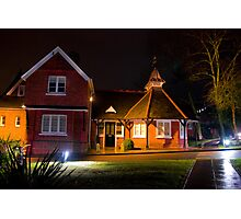Red Brick and the Victorian era Photographic Print