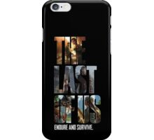The Last of us Endure and survive iPhone Case/Skin