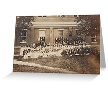 Graves County Institute July 17, 1904 Greeting Card