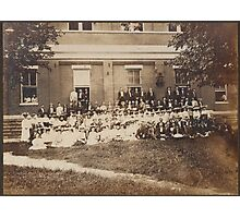 Graves County Institute July 17, 1904 Photographic Print