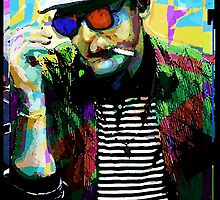 Hunter.S. Thompson.  by brett66