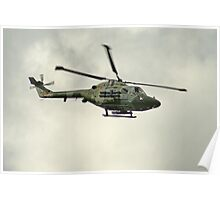 Blue Eagles Westland Lynx Poster