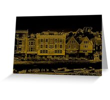 A Canal Street In Dartmouth Greeting Card