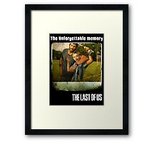 The Last of us Joel's Unforgettable memory Framed Print