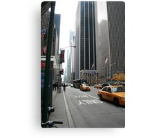 Commercial Block - NYC Canvas Print