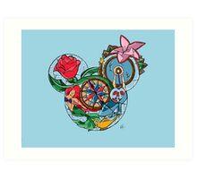 Disney Princesses Art Print