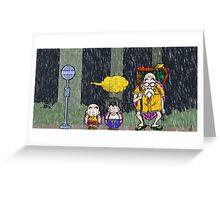DB-Totoro Greeting Card