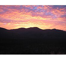 Sunrise 2 - Nth QLD Hinterland Photographic Print
