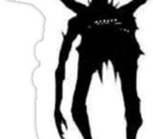 Ryuk (Black on White) Sticker