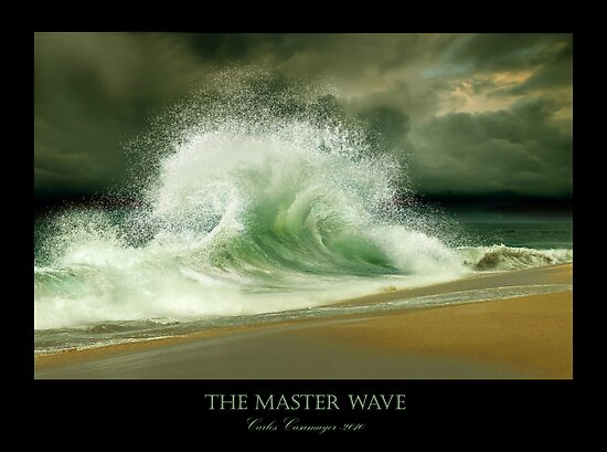 The Master Wave by Carlos Casamayor