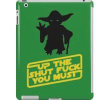 Star Wars Shut up iPad Case/Skin
