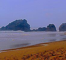 Adraga beach   -  1 by BaZZuKa