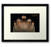 The Art of Building Muscles Framed Print