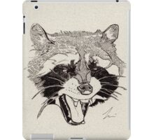 Rockin' Raccoon iPad Case/Skin